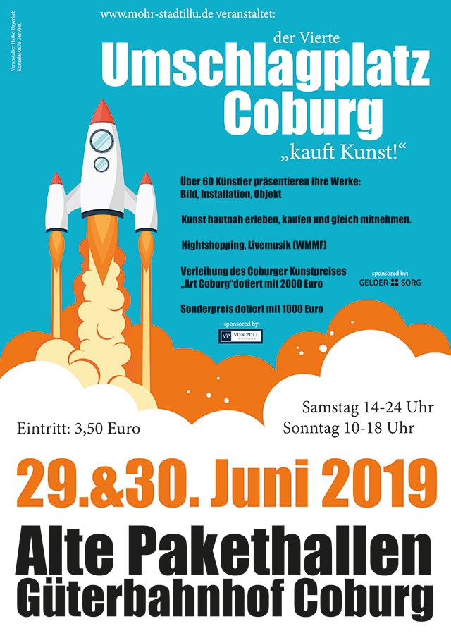 Umschlagplatz Coburg 2018 - Plakat